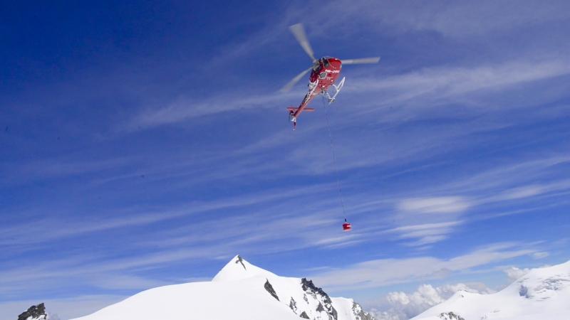 RECCO im Wallis in der Schweiz und im Aostatal, Italien