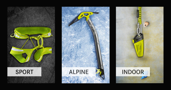 Edelrid Loopo Lite Klettergurt : Edelrid ace harness oasis snow campz