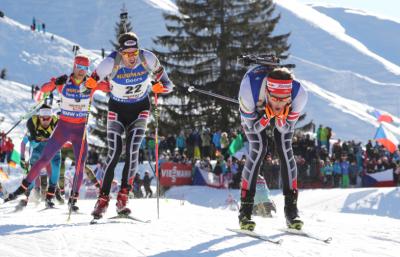 LÖFFLER bei Biathlon-WM in Hochfilzen stark vertreten
