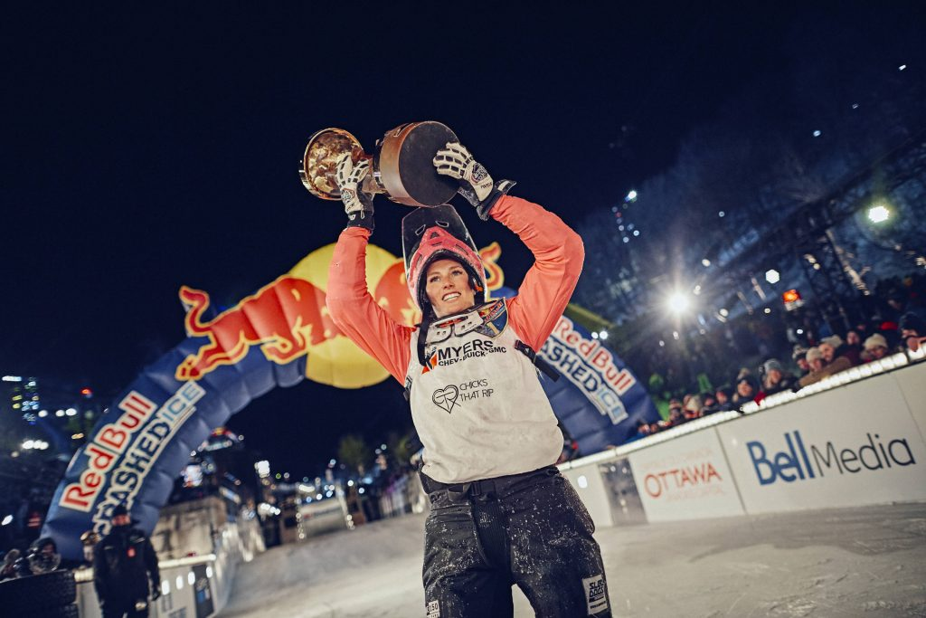 Red Bull Crashed Ice Weltmeisterschaft in Ottawa
