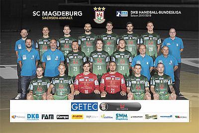Kempa SC Magdeburg Mannschaftsbild