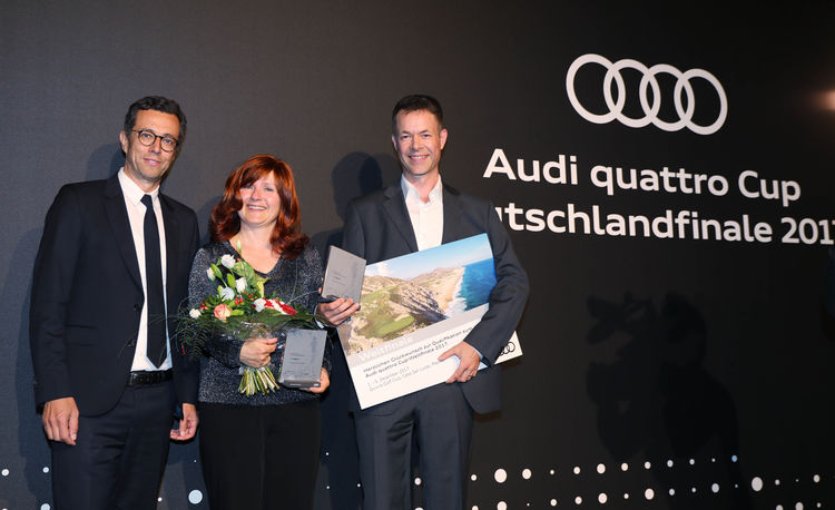 Audi Amateurgolf Siegerehrung