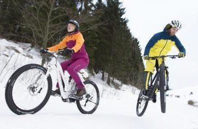 e-bikes im Winter