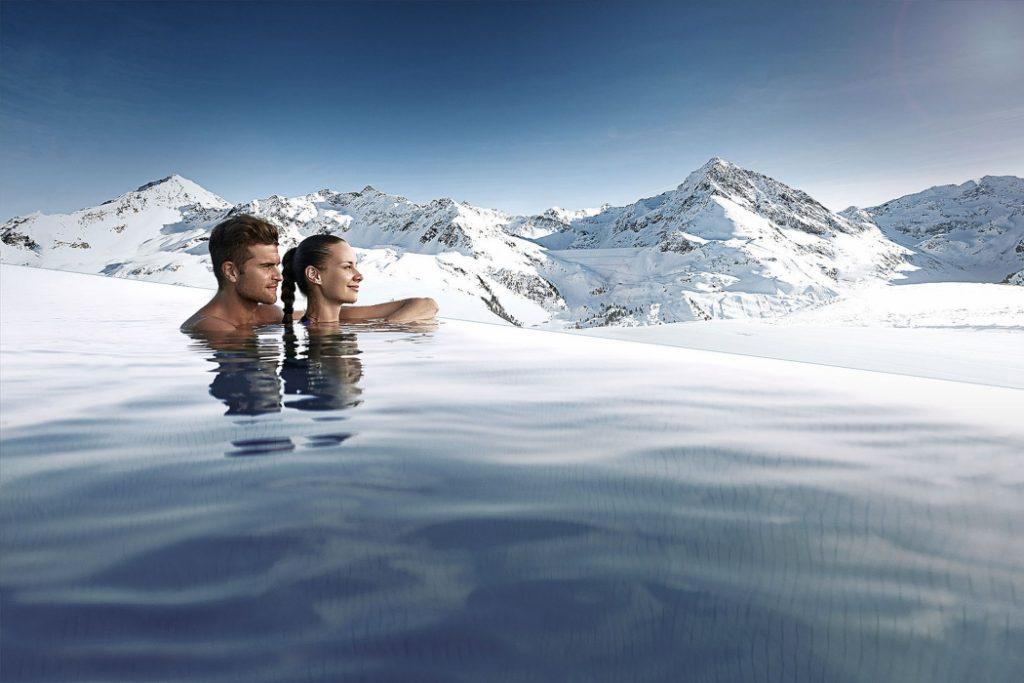 100 m Endless Sky Pool bei Innsbruck