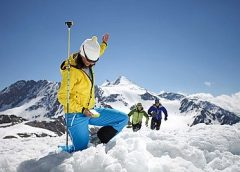 Alpinmesse bereitet auf den Winter vor