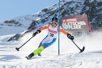 Europameiosterschaft der handicapped Skisportler