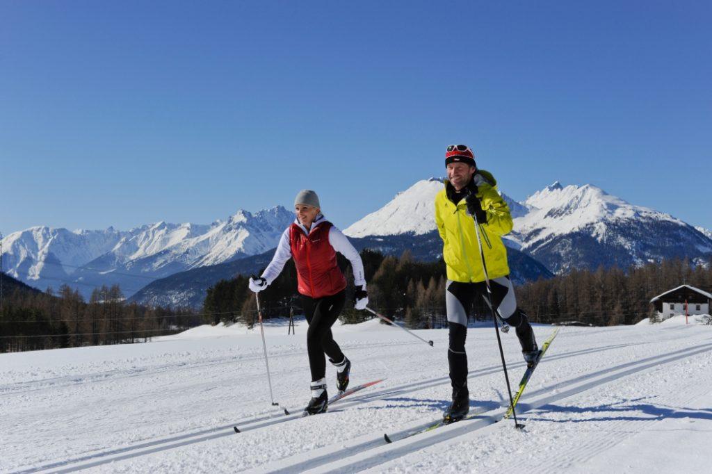 Langlauf in der Region um Innsbruck