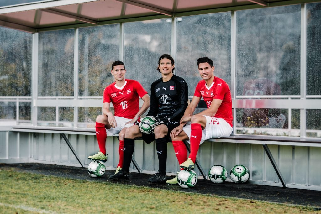 Neues Puma Trikot für die Schweizer Nationalmannschaft
