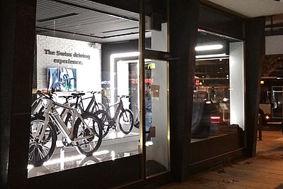 Stromer Store Genf