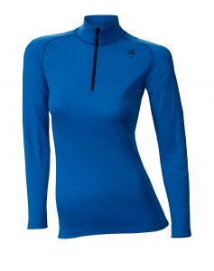 Aclima_WarmWool_Mock Neck w_zip_Woman_brilliant blue_preview