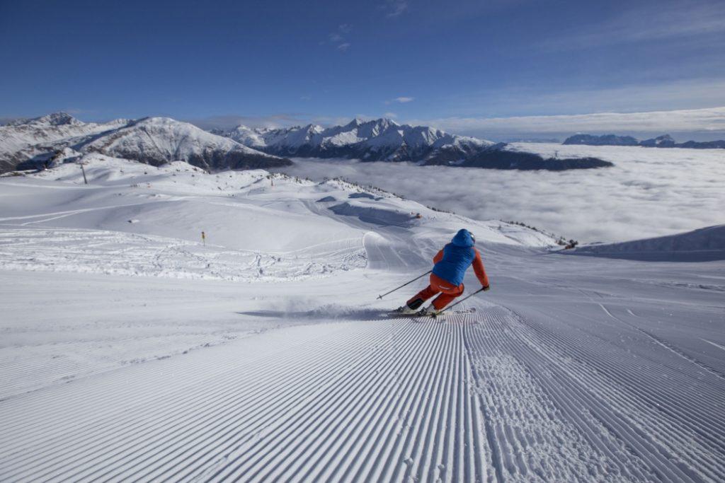 Skilaufen am Hochstein