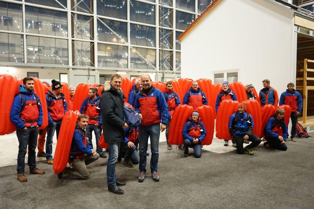 Bergwacht Bayern wird mit ABS ausgerüstet