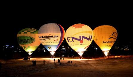 Beim Internationalen Ballonfestival die Schönheit des Tannheimer Tals von oben bewundern