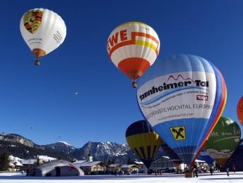 Ballonfestival in Tannheim