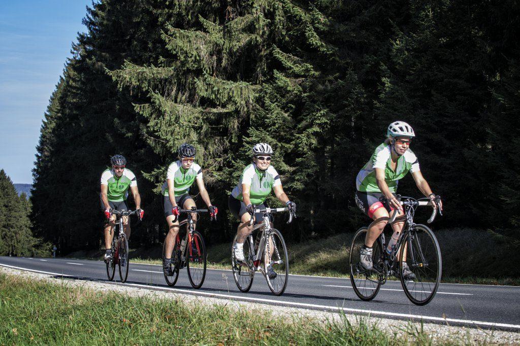 Fahrradfahren im Fichtelgebirge