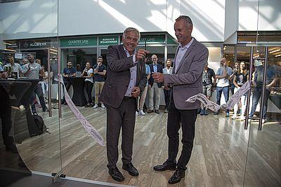 Eröffnung der Oberalp Räumlichkeiten in der Brandboxx Salzburg
