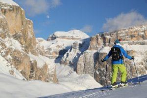 Skitour im Val di Fassa