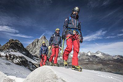 Millet koopwriert mit drei Bergführervereinigungen