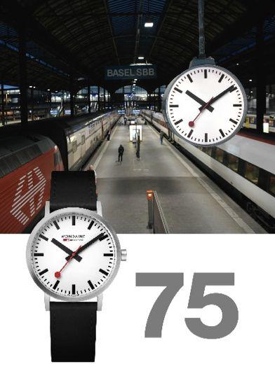 75 Jahre klassisches Design – die Schweizer Bahnhofsuhr von Mondaine