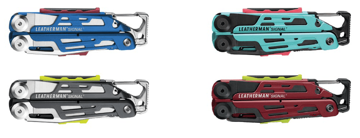 LEATHERMAN SIGNAL BRINGT FARBE INS ABENTEUER