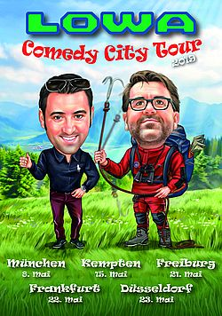 Neues Schulungsformat: LOWA Comedy Tour