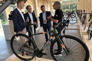 Markus Storck im Talk_Storck Bicycle-Flagship Store Wertheim