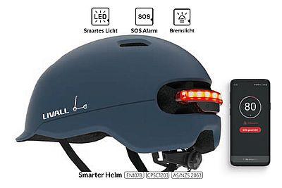 Livall-Fahrradhelm