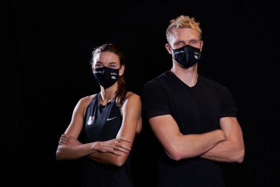 Sporthilfe und Maskenhersteller starten Benefizaktion