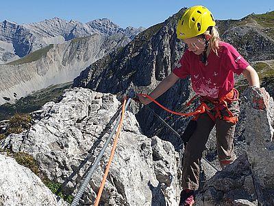 Klettersteig-Testival an der Innsbrucker Nordkette