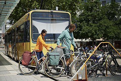 Vaude-Fahrradtasche